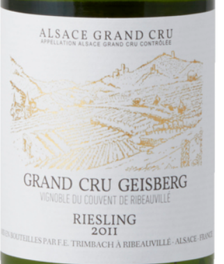 Trimbach Geisberg Grand Cru Riesling